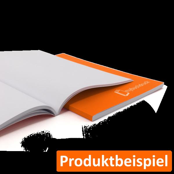 Softcoverbuch mit Fadenheftung